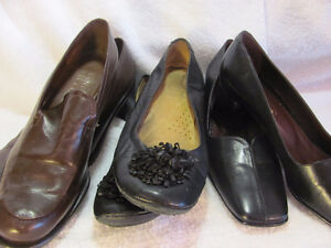 chaussures en cuir presque neufs-hardly ever warn lesther shoes