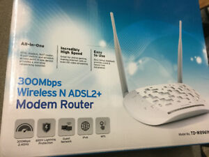TP-Link all in one Modem Router