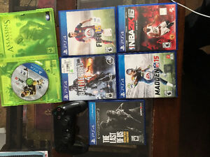 Ps4 Controller and Games for sale