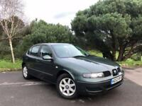 2003 SEAT LEON 1.4 S 5D 74 BHP (ONE FORMER KEEPER | NEW MOT)