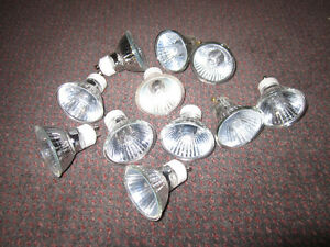 Luminus Halogen GU10 Flood Light Bulbs - lot of 11