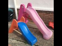 Little tikes slides
