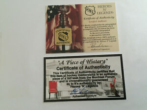 Henry Richard autograph with piece of history forum West Island Greater Montréal image 2