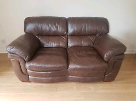Leather Sofa - 2 seat