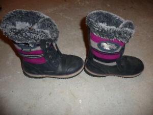 BOTTES HIVER BOGS FILLE TAILLE 2