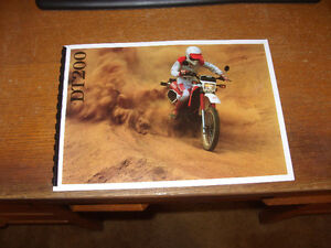 1988 Yamaha DT 200 parts