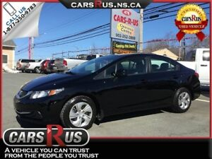 2013 Honda Civic LX 4dr Sedan 5M