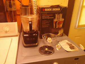 Black and Decker 12 cup Food Processor