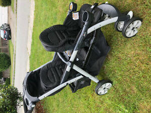 MINT condition CHICCO Cortina Together Double stroller