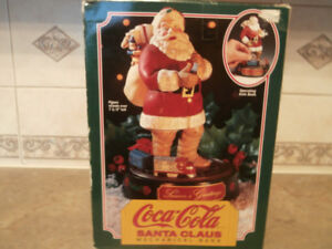 1993 Coca Cola Ertl Santa Mechanical Bank