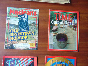 Time Magazines and News Paper on waik on the Moon London Ontario image 4