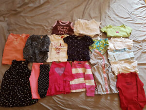 Baby girl clothes lot 12-18 and 18 m