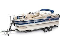 2015 Sun Tracker Fishin' Barge 22 DLX