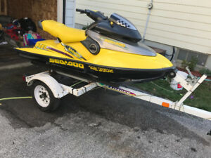 Seadoo xp Ltd. 951cc and trailer