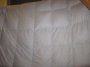 Down Duvet, King Size, Kirkland Signature, Excellent Condition