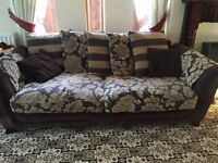 2 X 3/4 seater sofa used from dfs