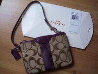 Brand New Coach Mini Purse or Wallet