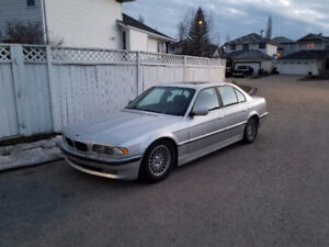 BMW 740i in great shape!