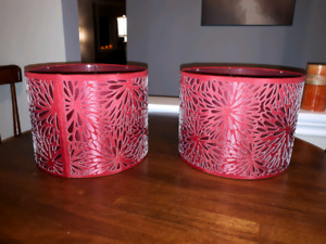 2 Beautiful Lamp Shades