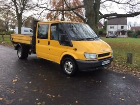 Ford transit T350 125bhp 3 way tipper only 98,000 miles