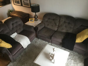 ELRAN INCLINABLES (Sofa 3 places* + Causeuse 2 places)