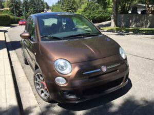 ****VERY NICE 2012 FIAT HATCHBACK--ONE OWNER--REDUCED