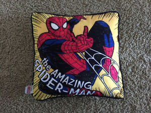 The amazing Spider-Man pillow