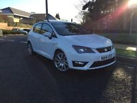 2014 SEAT IBIZA FR 5DR 1.6 CR TDI - 13K MILES - TOP SPEC!!! PANROOF - NOT POLO AUDI CORSA BMW VW