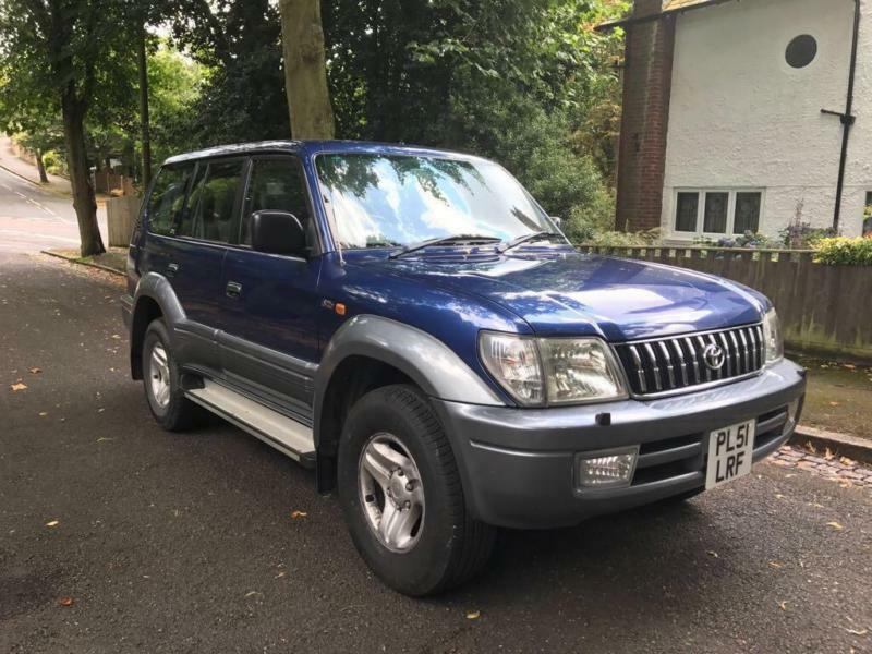 Toyota Land Cruiser Colorado 3.0 D-4D ( 8 st ) auto 2000MY GX (2001)