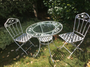 Pier 1 Wrought Iron Table and Chairs