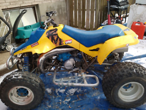 92 Suzuki LT250R with 87 Big Reed motor(With Ownership)