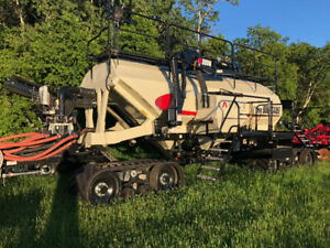 Bourgault Cart on Full Track System
