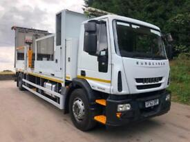 2013 Iveco Eurocargo 180E25 EEV traffic managment body with King crash cusion