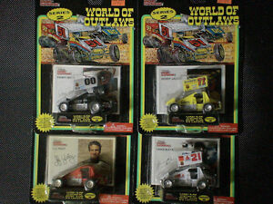 Diecast World of Outlaws funny cars series 2