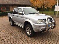 ✅ 2006 Mitsubishi L200 Trojan 2.5td 12 months mot FSH just serviced vosa verified HPI CLEAR 4x4