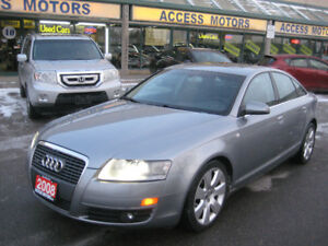 2008 Audi A6, Only 141k, No Accident, Navigation, Extra Clean
