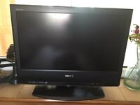 Sony Bravia 20 inch flat screen TV