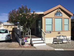 Park Model in Araby Acres in sunny Yuma For Rent or Sale