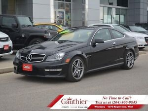2012 Mercedes Benz C-Class C63 AMG *RARE-Local Trade*