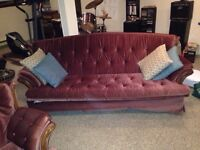 FREE: Matching couch and Arm chair