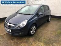 2010 60 Vauxhall/Opel Corsa 1.2i 16v a/c SXi Blue Petrol Manual 5 Door