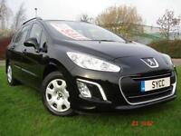 2013 Peugeot 308 1.6 HDi 92 Access 5dr 5 door Estate