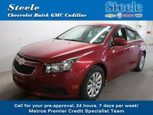 2011 Chevrolet CRUZE LT Turbo w/1SA One Owner Dealer Maintaned !