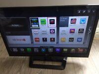 """LG 32"""" wifi smart led TV hardly used"""