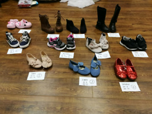 EUC condition toddler shoes $7 each