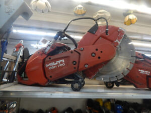 concrete saws and other misc contracting tools at the 689r