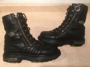 Men's Harley-Davidson Leather Boots Size 7 London Ontario image 1