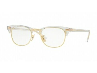 Gestell Optische Brille Ray-Ban RX5154 Clubmaster Transparent 5762