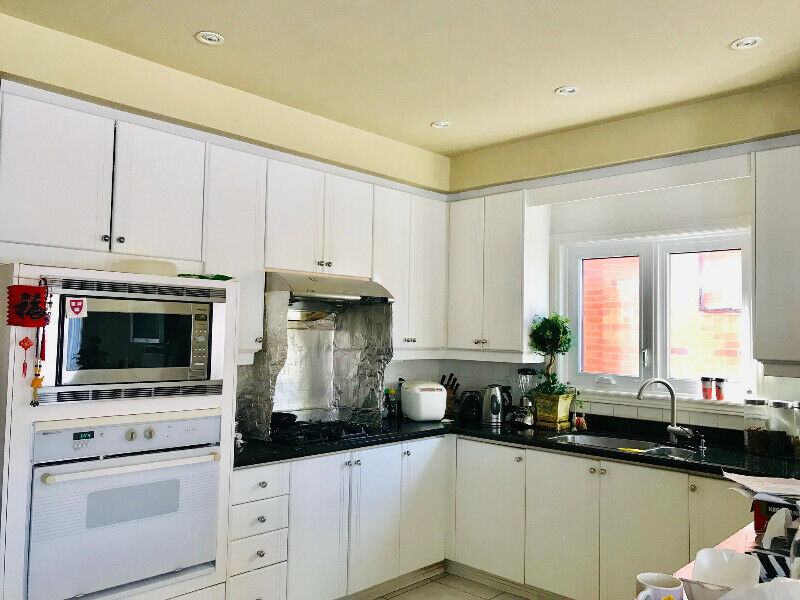 kitchen cabinets and granite countertop for sell (used ...
