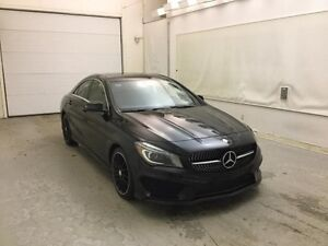 Mercedes-Benz CLA-Class LIMITED BLACK PACKAGE 4M 2014